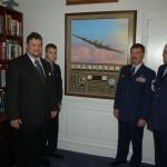 AV 1c -THE BELLE IN GEN MOSLEY'S OFFICE